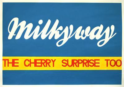 Milkyway, Acrylic on Paper, 100cm x 70cm