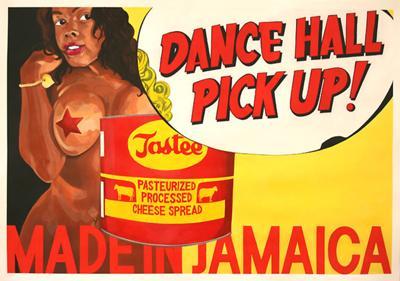 Dancehall Pickup, Acrylic on Paper, 100cm x 70cm
