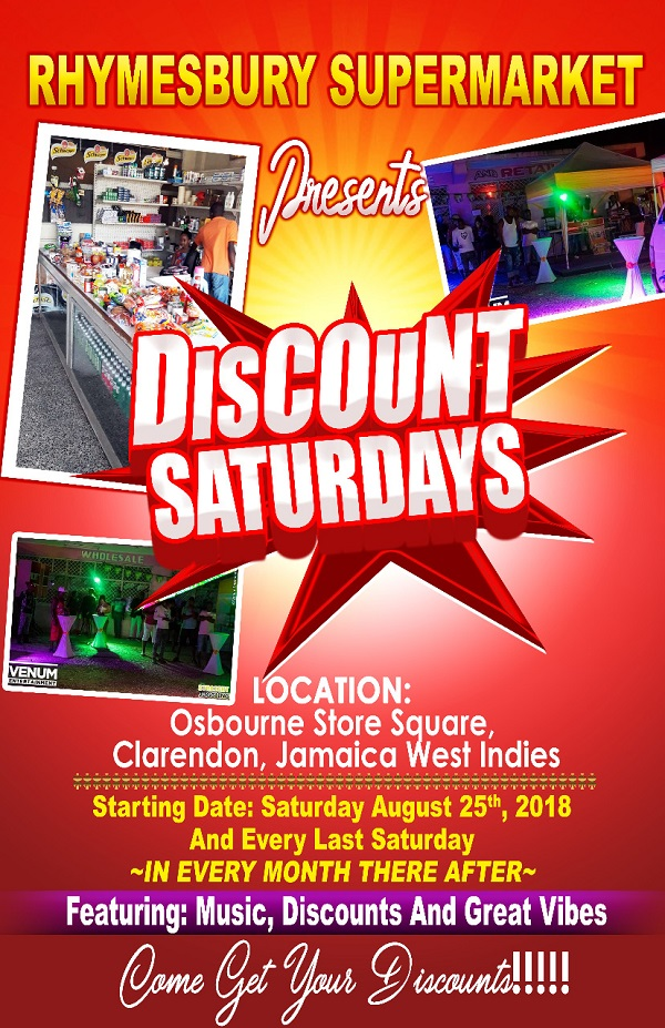 Discount Saturdays