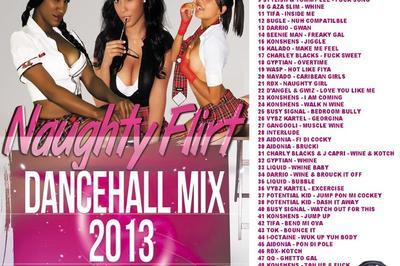 DJ LOGON presents Naughty Flirt Dancehall Mix 2013 on DJKAAS.COM