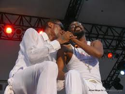 Beenie man and Vybz Kartel