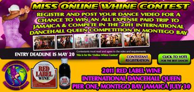 Online queen competition