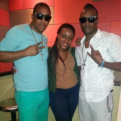 RDX with host ShellyAnn at LinkUpRadio