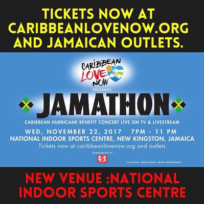 New Venue: JAMATHON now at National Indoor Sports Centre