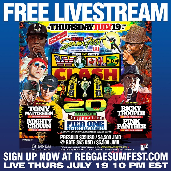 Sumfest Live Streaming