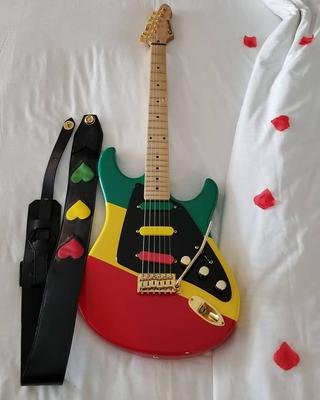 WIN a One Love Leather Guitar Strap