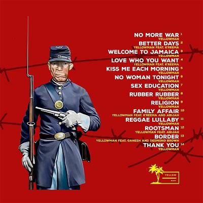 Reggae artist Yellowman's No More War album now Out